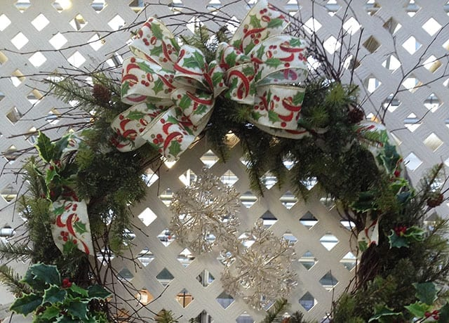 wreath, Christmas decorating